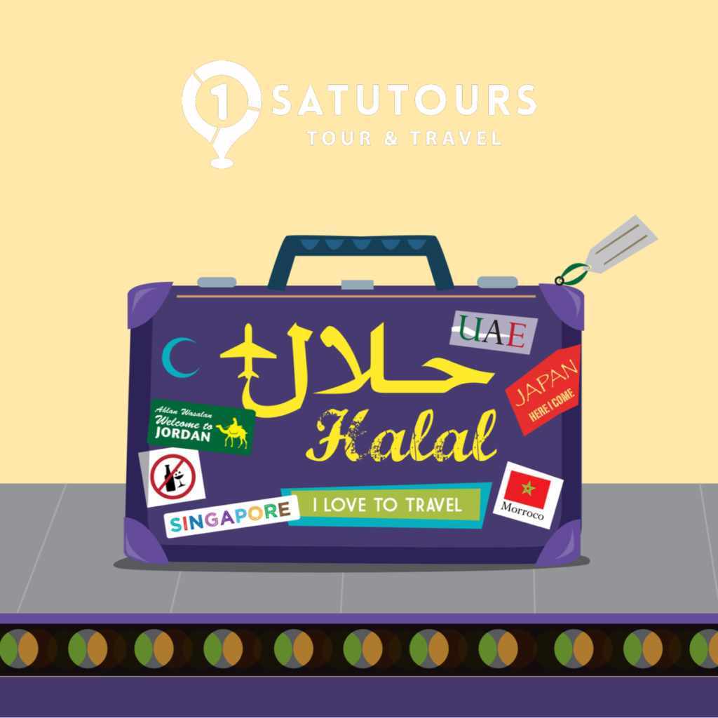 Tips memilih travel halal