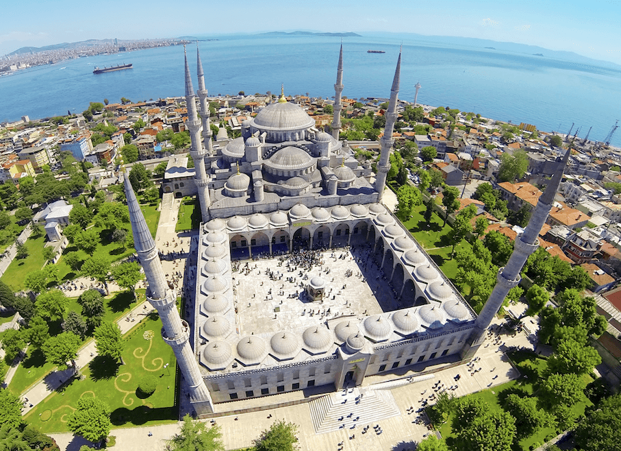 Tour Turki Blue Mosque